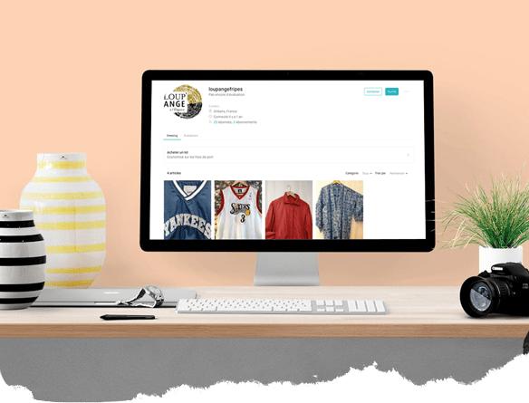 Notre boutique en ligne sur le site de vinted